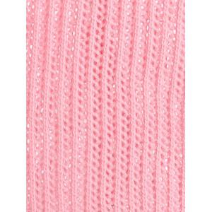 Chunky Knit High Low Plus Size Tennis Sweater -