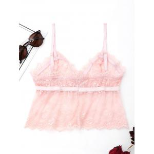 Cami Lace See Through Bralette -