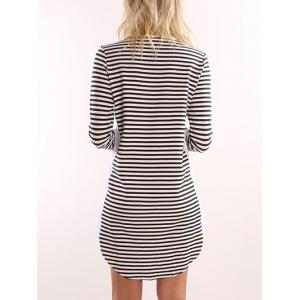 Striped T Shirt Dress -