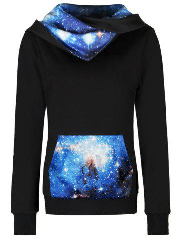 Outfit Starry Sky Hoodie with Pocket COLORMIX M