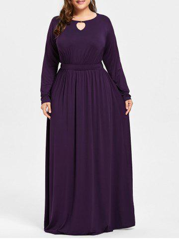 Robe taille taille taille Maxi Plus