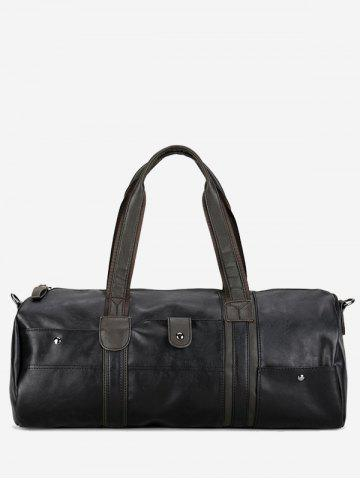 Unique PU Leather Rivets Weekend Bag