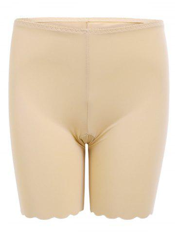 Outfit Scallope Seamless Safety Panties - L COMPLEXION Mobile