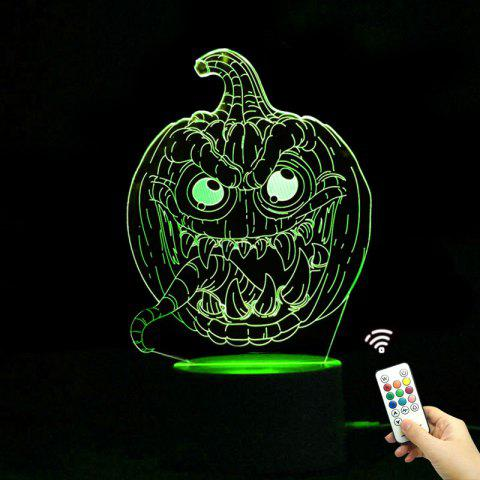 Store Color Change Halloween Pumpkins Shape Remote Control Night Light