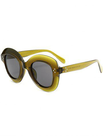 Outfits Full Rim Design Oval Sunglasses
