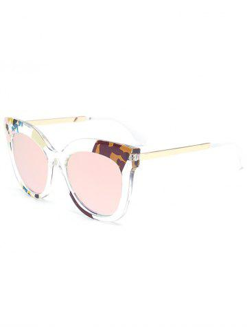 Latest Color Pieces Embellished Butterfly Sunglasses - PINK  Mobile