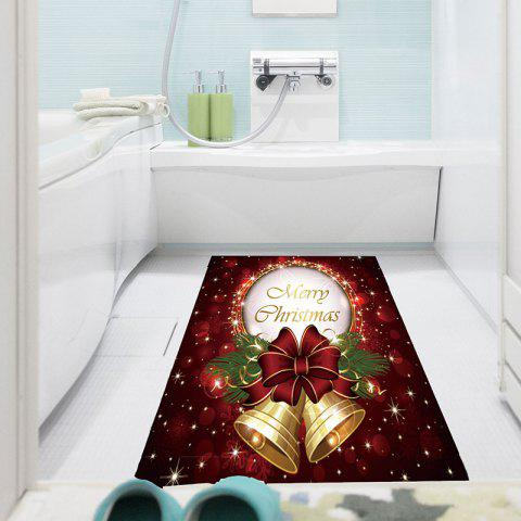 Affordable Christmas Bell Pattern Waterproof Stick-on Wall Art Painting COLORFUL 1PC:24*35 INCH( NO FRAME )