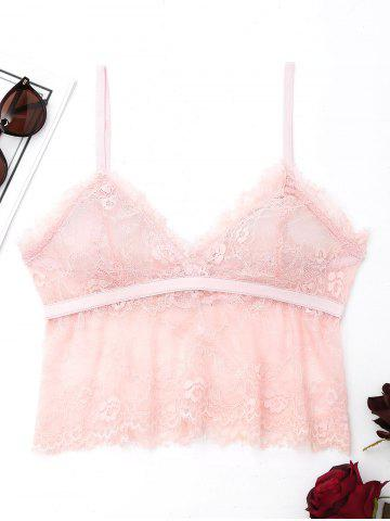 Cami Lace See Through Bralette