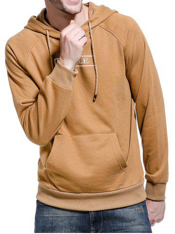 Fashion Graphic Print Pocket Hoodie