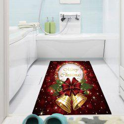 Christmas Bell Pattern Waterproof Stick-on Wall Art Painting - COLORFUL 1PC:24*35 INCH( NO FRAME )