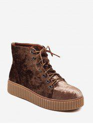 Bottines en daim en daim -