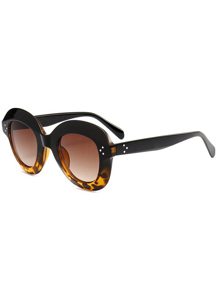 Shops Full Rim Design Oval Sunglasses