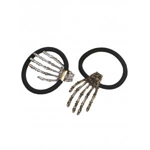 Skeleton Halloween Hand Elastic Hair Band -