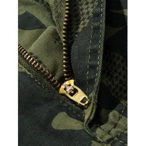 Camouflage Swallow Gird Cargo Pants - ARMY GREEN 32
