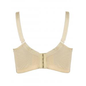 Plus Size Underwire Unlined Bra - COMPLEXION XL