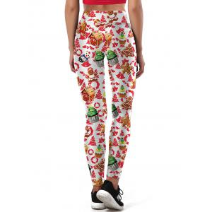 Ulgy Christmas Tree Cake Party Leggings -