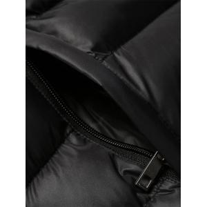 Casual Zip Up Padded Jacket -
