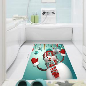 Multifunction Christmas Snowman Patterned Wall Art Painting -