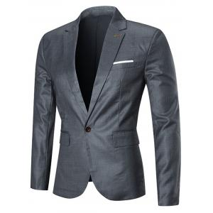 Slim Fit Three-piece Business Suit -