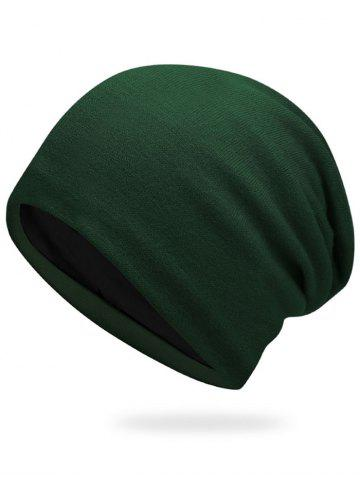 Cheap Autumn Knit Hat - ARMY GREEN  Mobile
