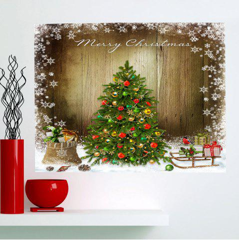 Colorful 1pc5939 Inch No Frame  Christmas Tree Pattern