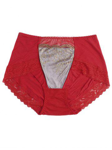 Discount Lingerie Panties with Lace Trim