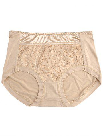 Online Lace Panel Panties