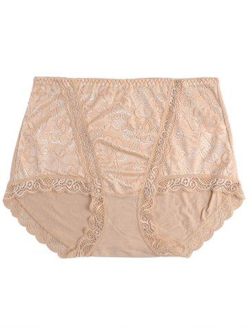 Fashion Full Coverage Panties with Lace