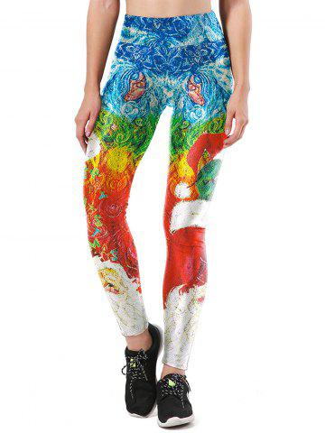 Outfit Merry Christmas Santa Claus Party Leggings