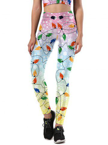 Shop Christmas Party Light Leggings COLORMIX XL