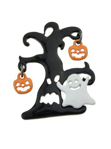 Discount Halloween Tree Devil Pumpkin Ghost Brooch