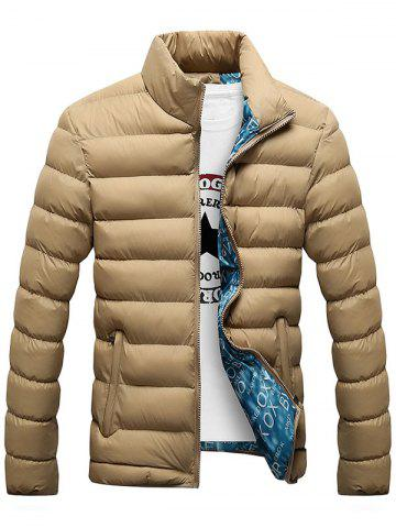Sale Casual Zip Up Padded Jacket