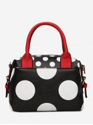 Color Block Polka Dot Totes -