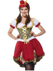 Beer Festival Cosplay Costume - RED M