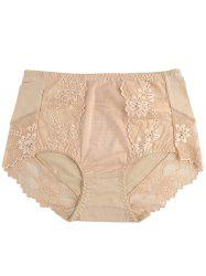 Lace Panel Lingerie Panties -