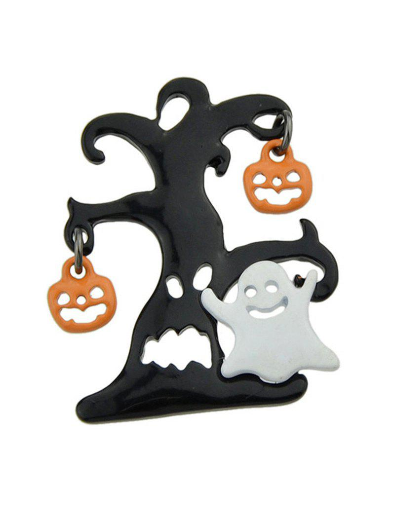 Halloween Tree Devil Pumpkin Ghost BroochJEWELRY<br><br>Color: COLORMIX; Brooch Type: Brooch; Gender: For Unisex; Style: Trendy; Shape/Pattern: Plant; Length: 3.5CM; Weight: 0.0300kg; Package Contents: 1 x Brooch;
