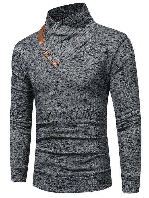 Shops Shawl Collar Knit Blends Pullover Hoodie