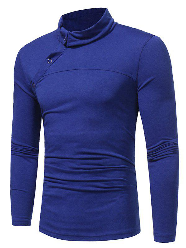 Turtle Neck Long Sleeve T shirt 227558301