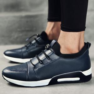 Low Top Faux Leather Casual Shoes -