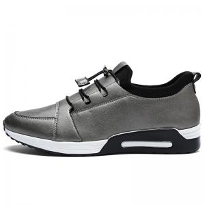 Low Top Faux Leather Casual Shoes - FROST 41