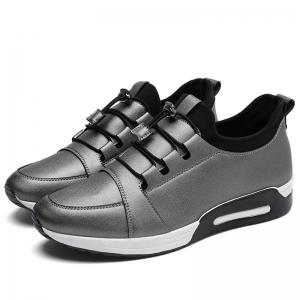 Low Top Faux Leather Casual Shoes - FROST 39