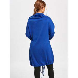 Sweat à manches longues Dolman Sleeve Loose Fit - Bleu L