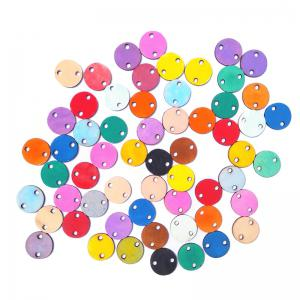 DIY Colorful Wooden Friends And Family Birthday Calendar Board - ROUND