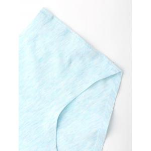 Mid Rise Seamless Panties - CLOUDY L