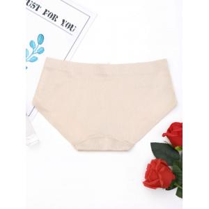 Seamless Middle Waist Panties - COMPLEXION L
