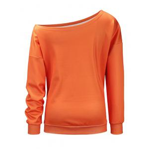 Chandail Abeille Halloween - Orange L