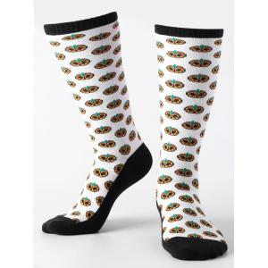 Halloween Small Pumpkins Pattern Tube Socks -