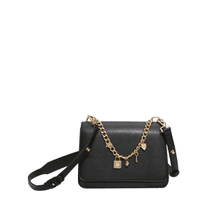 Chain Heart Star Crossbody Bag -