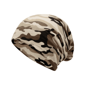 Outdoor Camo Pattern Lightweight Beanie -