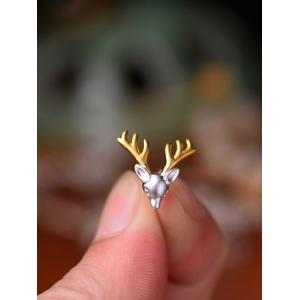 Reindeer Christmas Stud Tiny Earrings -